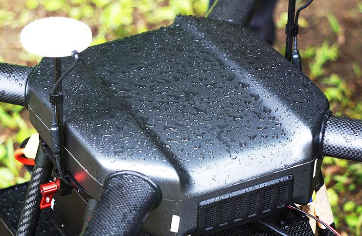 高い防塵・防滴性能